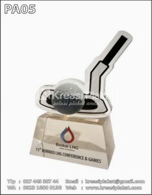Plakat Golf Badak LNG
