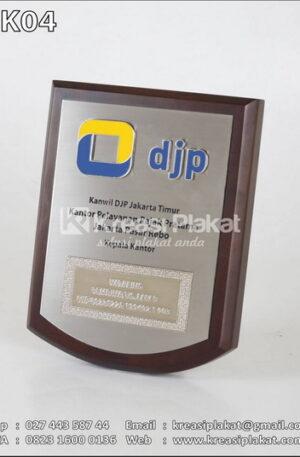 Plakat Kayu DJP