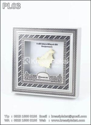 Plakat Logam Bank BRI